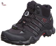 adidas Terrex Swift R Mid GTX, Chaussures de trekking et randonnée homme -  Noir -