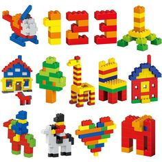 DIY Creative City Building Bricks Set Toy Best Picture For classic Toys For Your Taste You are looking for something, and it is going to tell you exactly what you are looking for, and you didn Lego Basic, Lego Club, Lego Design, Lego Challenge, Lego Craft, Lego For Kids, Lego Instructions, Lego Building, Lego Creations
