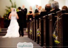 #wedding ceremony #aisle markers #flowers