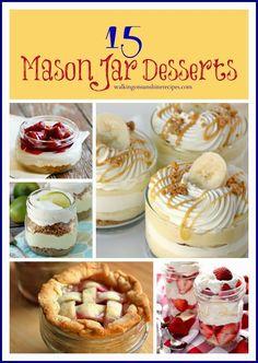 15 Mason Jar Recipes / Walking on Sunshine Recipes