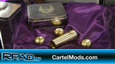 It's always excellent catching up with Cartel Mods FB Gino Litonjua. He makes some of the sweetest hardware in the vaping business and he's an awesome guy. At ECC 2014, he talked about the brass Cartel Boss 26650, the Stillare v3, the benefits of tri-coil atomizers, and a new color laser-engraving process. #vaping #vapelife #vapelyfe #vapefam #vape #ecigs #ecigarettes #ecc #ecc2014 #rpadtv