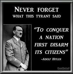 Dear U.S.: Is the government getting rid of the military? Is it disarming local police? Is it disarming the border patrol? Is it giving away its nuclear weapons? If the answer is no, then ask yourself, WHY SHOULD WE???
