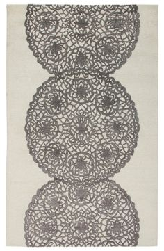 'Lace' Hand Tufted Wool Area Rug