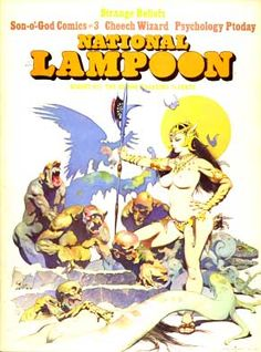 National Lampoon Magazine # 41 - August 1973 pdf Back Issues Collection Archives Download DVD Ebay