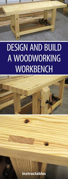 Design and Build a Woodworking Workbench  #woodworking #workshop
