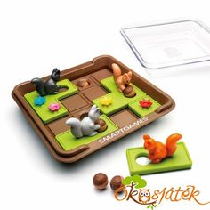 Art Games Children's Intelligence Crazy Educational Toys Squirrel Logic Board Games Men's Other Play Tapas, Logic Games, New Puzzle, Time In The World, Puzzle Pieces, Acorn, Educational Toys, Game Art, Board Games