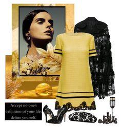 """LATTORI designer dresses 37."" by carola-corana ❤ liked on Polyvore featuring Comme des Garçons, Disney, Lattori, Oscar de la Renta, Chanel, Versace, Pieces and lattori"