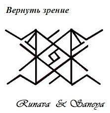 Авторы этой работы: Velya иRunava ) Runava: 2 Гебо + 2 Кано — равновесие поступаемых импульсов и реакция на них (дар зрения) 2 Альгиза укрепляют глаза и сохраняют достигнутый успех лечения. …