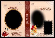 27 Wedding DVD Cover Psd Templates Free Download Wedding Album Cover, Wedding Album Design, Wedding Albums, Photoshop Plugins, Adobe Photoshop, Indian Wedding Photos, Album Cover Design, Cover Template, Cd Cover