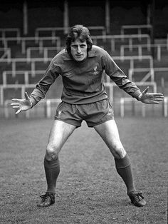 Liverpool goalkeeper Ray Clemence in Liverpool Champions, Fc Liverpool, Liverpool Football Club, Ray Clemence, Bob Paisley, Liverpool Goalkeeper, Association Football, Famous People, Punk