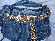 La bolsa de pantalones vaqueros viejos, MK   alteraciones   perfección