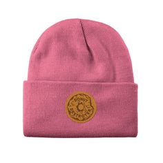 Autumn is coming. We have you covered with our new collection. Hardcore, Beanie, Unisex, Donuts, Pink, Autumn, Hats, Cover, Collection