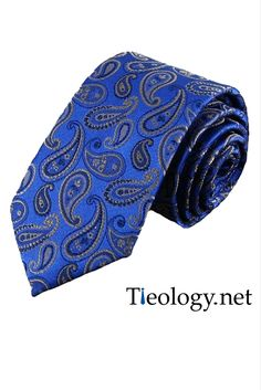 Leven Tie - Blue at $15