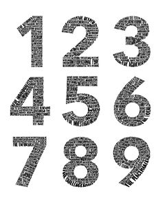 Enneagram Type Poster. All Nine Types. Each Type Number composed of descriptive words. Fun addition for any art wall. Great conversation starter. Word Art. Enneagram Type One, Best Advice Quotes, Descriptive Words, Astrology Numerology, Type Posters, Seasons Of Life, Great Conversation Starters, Mbti, Isfj