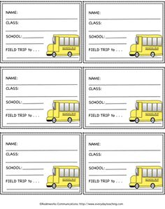 1000 images about field trip teaching ideas on pinterest for Field trip lesson plan template