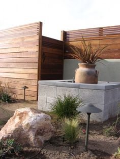 doing a fence like this, but not as high.