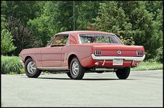 1965 Ford Mustang Coupe One of the First K-Code Mustangs Built presented as lot F124 at Monterey, CA 2013 - image2