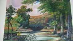 Selda genç yağlı boya