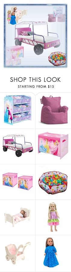 """""""Every little girl's dream"""" by rhaxkido ❤ liked on Polyvore featuring interior, interiors, interior design, home, home decor, interior decorating, jcp, Disney and Guidecraft"""
