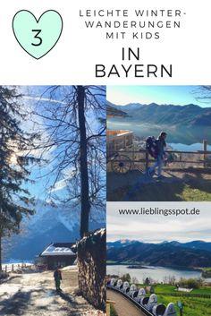 Drei leichte Winterwanderungen mit Kindern in Bayern