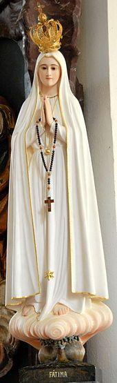 13 maggio Madonna di Fátima