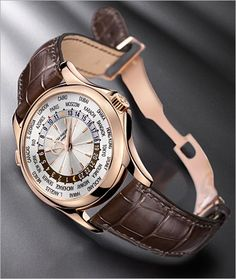 PATEK PHILIPPE SA - Complications Ref. 5130/1G-011 World Timer in Rose Gold