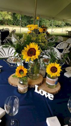Gorgeous 101 Country Rustic Sunflower Wedding Theme Ideas Bitecloth