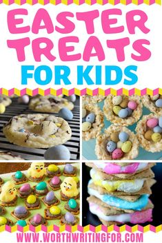 21 Cute & Easy Easter Treats for Kids! Easter desserts you can make with your kids this spring! Fun ideas for Easter cookies, cupcakes, and treats. Includes some gluten free Easter desserts too! treats for kids Easter Bunny Cake, Easter Candy, Easter Cookies, Easter Treats, Easy Cupcake Recipes, Easter Recipes, Easter Desserts, Special Recipes, Easter Baskets To Make