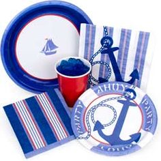 nautical party decorations nautical party supplies and travel ideas for nautical parties - Nautical Party Decorations