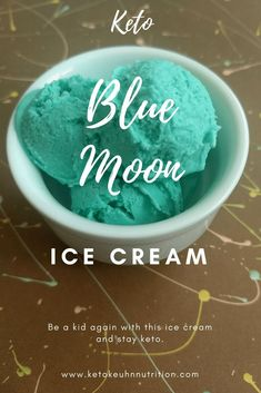 This blue moon keto ice cream brought me back to my childhood. When I tasted the end product of this blue moon ice cream I melted in delight. I could not tell the difference between my recipe flavor and the store-bought stuff. If you miss blue moon and li