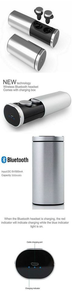 Smart wireless Bluetooth earbuds headphones with portable charger Fits into workout and gym clothes. Great for running without tangles! Gift accessories products for home and car, audio speakers, android Samsung Galaxy, LG, Windows 10, Laptop, Macbook and Apple iPhone 7 users, men and women who are active in yoga, cardio, health and fitness and travel. Take music anywhere you go, packs in purses, luggages and backpacks. Take music anywhere, packs in purses, backpacks and travel bags.  #Tech