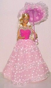 Dream Glow Barbie. I must have lost that parasol, but I remember the glow in the…