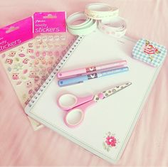 No one does girly and kawaii like the Japanese! Look for cute stationary on eBay. It's a steal!