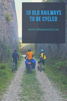10 itineraries on old railways by bicycle✨ Touring Bicycles, Touring Bike, Bike Riding Tips, Bike Ride Quotes, Bike Trails, Biking, Videos Funny, Workout, Travel Inspiration