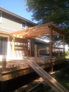 deck by Lyndhurst Lumber