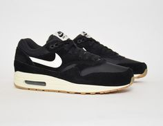 #Nike Air Max 1 Black #sneakers