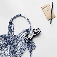 코바늘가방 _ 네트백 : 네이버 블로그 Celine, Net Bag, French Riviera, Fishnet, String Bikinis, Photo And Video, Instagram Posts, Bags, Style