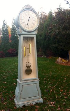 Grandfather Clock by Bellablakely Uptown Vintage Furniture