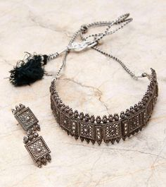 How To Make Silver Bracelets Product Indian Jewelry Earrings, Jewelry Design Earrings, Silver Jewellery Indian, Necklace Designs, Silver Jewelry, Jewelery, India Jewelry, Boho Jewelry, Antique Jewellery Designs