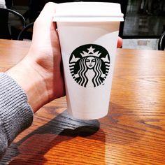 Coffee time ☕️ #coffee #afternoon #brazil #starbucks