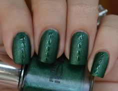Pure Ice Femme Fatale ...use topcoat over a matte polish for nail art.