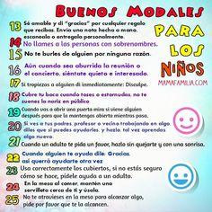 imagen de amabilidad en espanol para ninos - Google Search