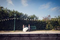 Harmans cross village hall wedding photography sneak peak at Julian and Lucy's gorgeous 'country fete' themed wedding photographs in Swanage, Dorset. Steam Railway, Wedding Couples, Photographers, Groom, Wedding Photography, Events, Weddings, Bride, Wedding