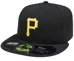 MLB Pittsburgh Pirates Authentic On Field Game 59FIFTY Cap, Black, 8 1/8 New Era,http://www.amazon.com/dp/B002TII22E/ref=cm_sw_r_pi_dp_a1QWsb0VCX917CMZ