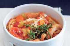 Dršťky po italsku Thai Red Curry, Shrimp, Meat, Ethnic Recipes, Food, Beef, Meal, Essen, Hoods