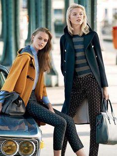 Fall fashion | Models: Frida Gustavsson & Jessica Hart #nattygal #womensfashion
