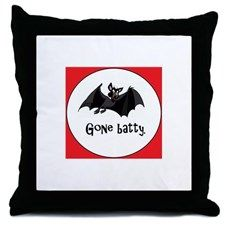 """""""Gone batty"""" - Halloween design on tons of great gift and apparel items - caps…"""