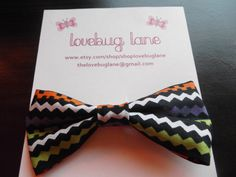 halloween hair bow.. for those who can't get enough of bows!!