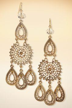 Sexy boho earrings. #BostonProper #Jewelry