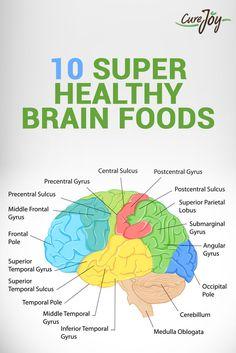 10 Super Healthy Brain Foods